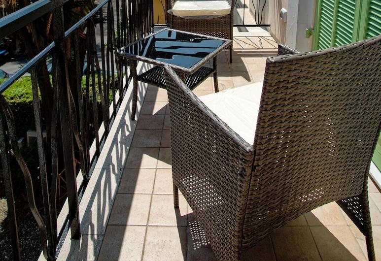 Hotel Alexander, San Remo, Apartmán s panoramatickým výhľadom, Balkón