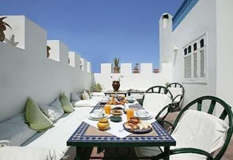 Riad Lalla Mogador, Essaouira, Terraza o patio