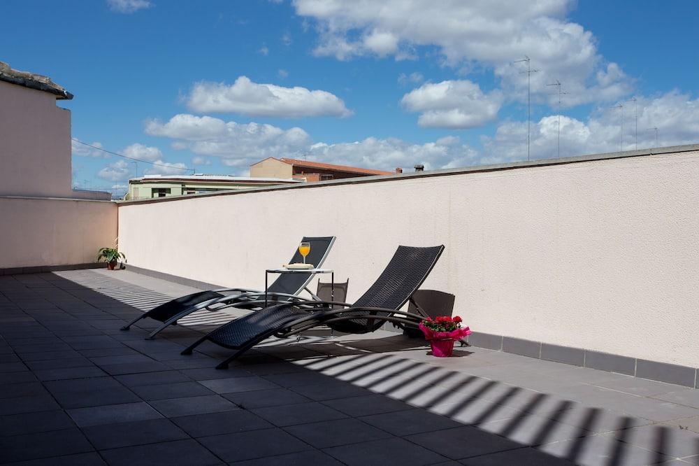 Penthouse, Terrasse - Balkon