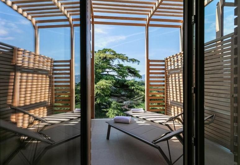 Villa Madruzzo, Trento, Habitación con 1 cama doble o 2 individuales, Balcón