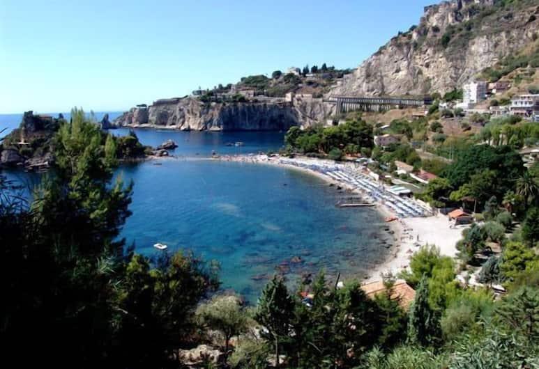 Mendolia Beach Hotel, Taormina, Strand