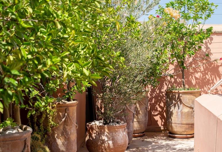 Riad Slawi, Marrakesch, Garten