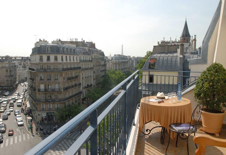 梅森聖傑曼酒店, 巴黎, 複式房屋, 廚房, 露台