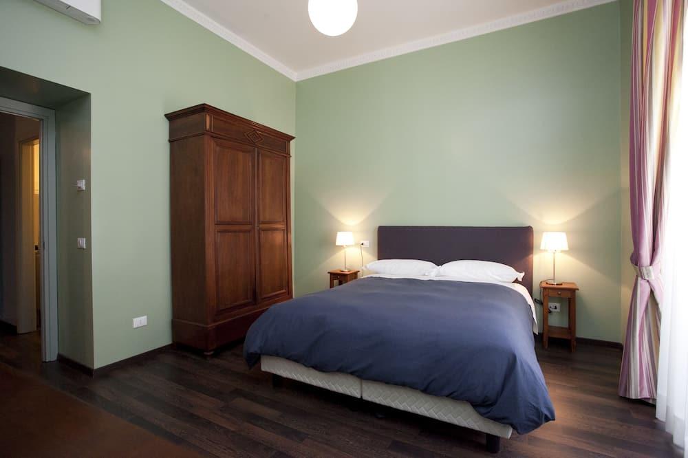 Habitación doble, baño privado - Sala de estar