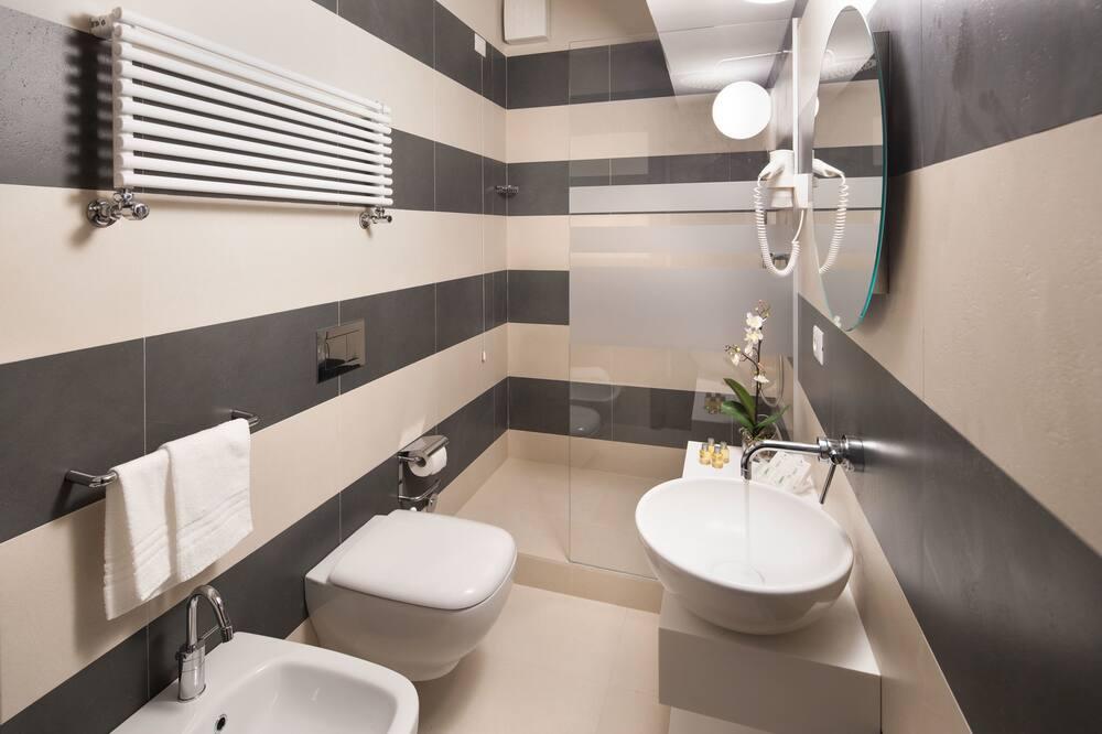 Izba typu Superior s dvojlôžkom alebo oddelenými lôžkami, 1 spálňa, výhľad na more - Kúpeľňa
