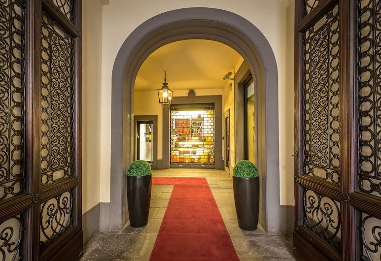 Hotel Duomo, Florence, Hotel Entrance