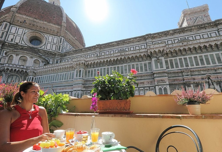 Hotel Duomo, Florenz, Doppelzimmer, Balkon (Duomo View - 31), Balkon