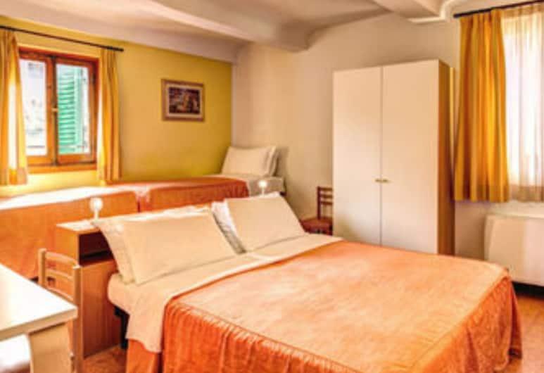 Hotel Fiorino Florence, Florencie, Třílůžkový pokoj, Pokoj