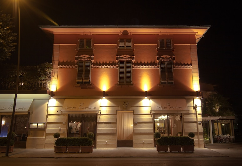 Albergo Celide & SPA, Lucca, Fachada do Hotel - Tarde/Noite
