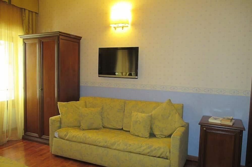 Superior szoba kétszemélyes ággyal - Nappali rész