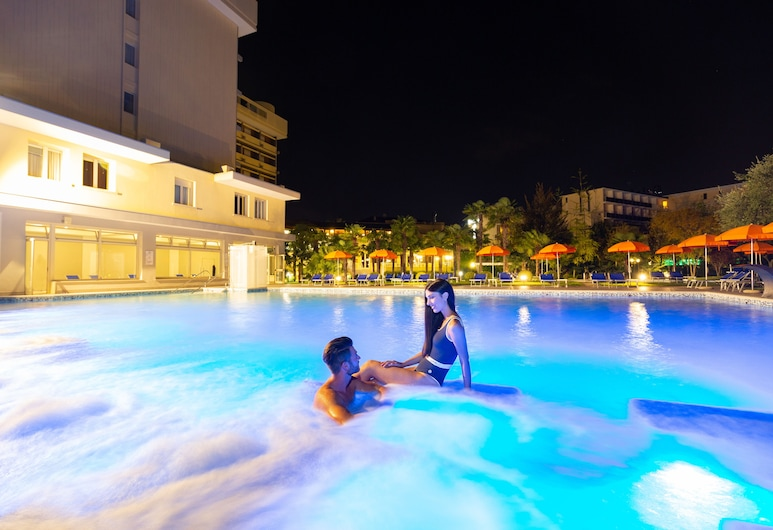 Hotel Savoia Thermae & Spa, Abano Terme, Outdoor Pool