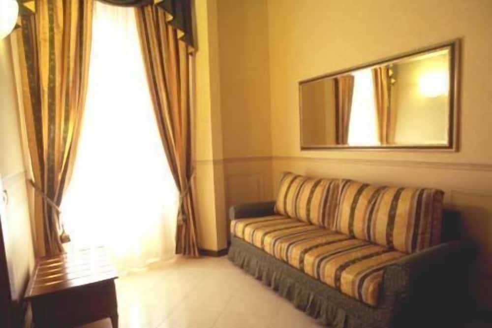 Classic-Doppelzimmer zur Einzelnutzung - Wohnzimmer