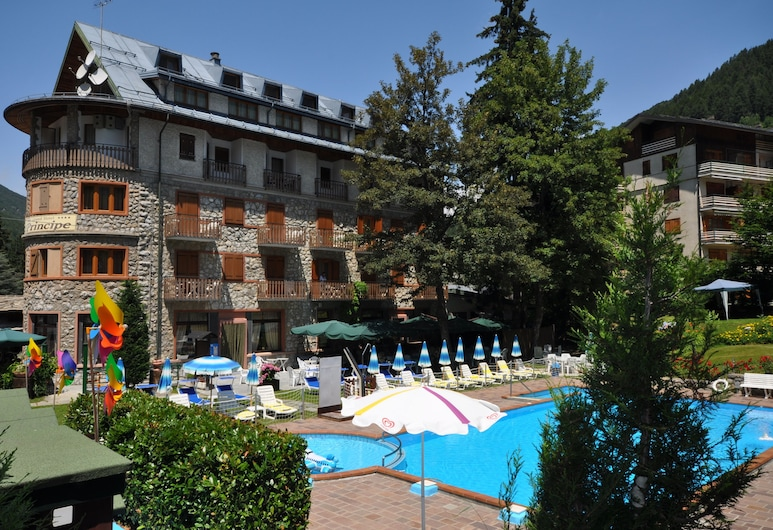 Grand Hotel Principe, Limone Piemonte, Lauko baseinas