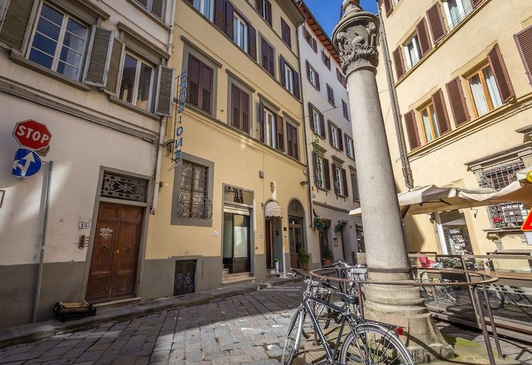 Hotel Ferretti, Florence, Hotel Front