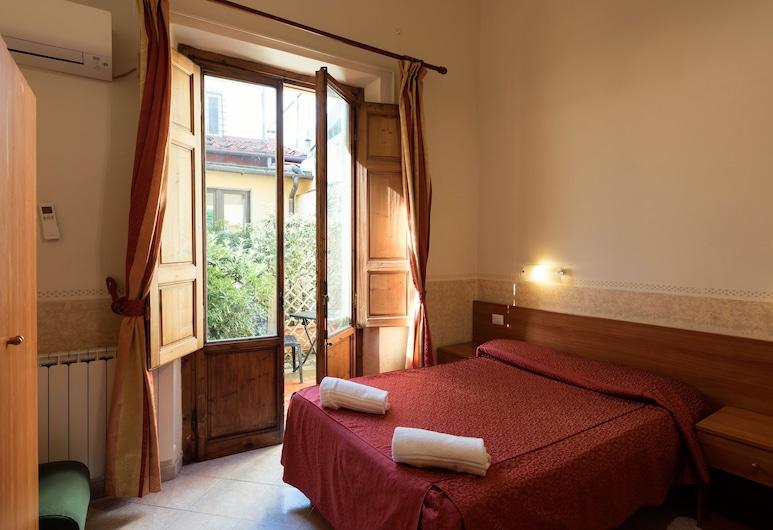 帕拉佐羅酒店, 佛羅倫斯, 雙人房, 客房