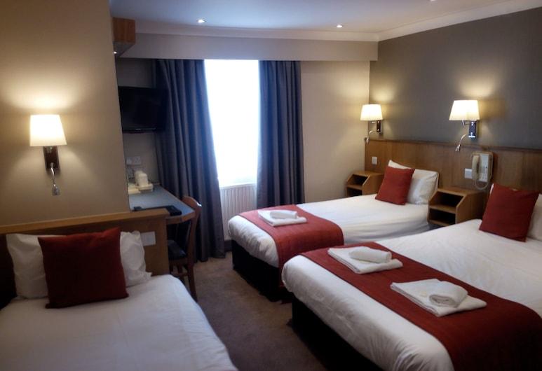 Columbus Hotel, London, Vierbettzimmer, Zimmer