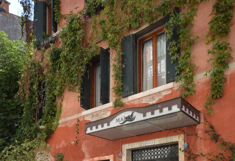 Albergo Marin, Venice, Hotel Front