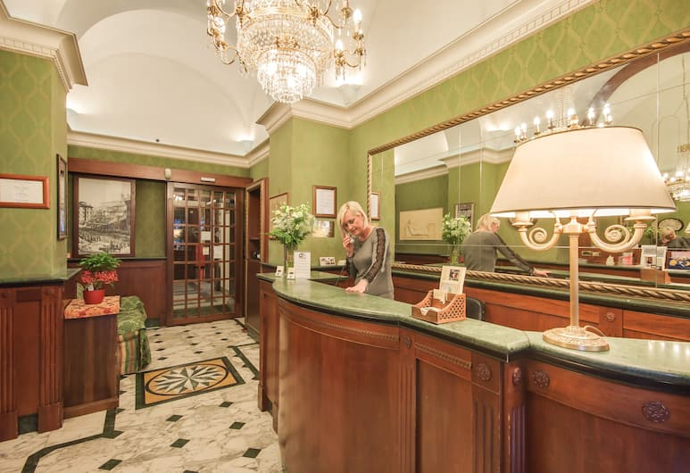 Hotel Giorgina, Rome, Reception