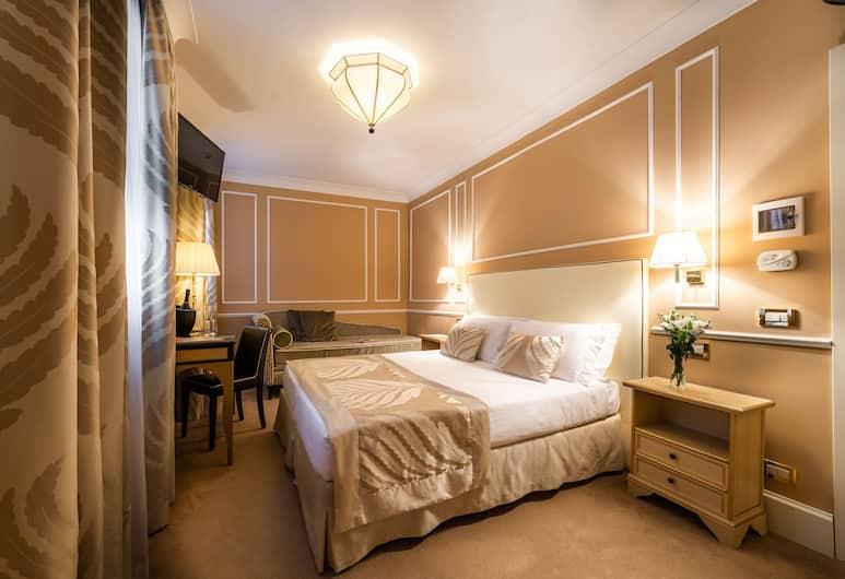 호텔 알 누오보 테손, 베네치아, 트리플룸, 객실