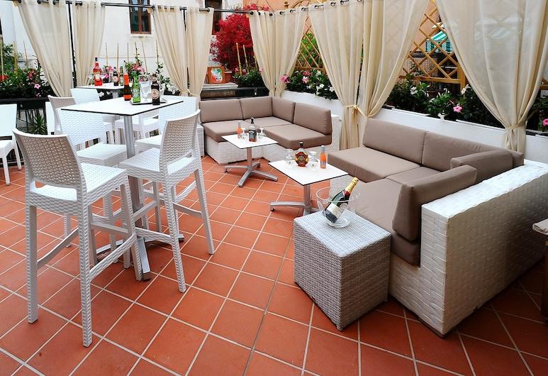 Hotel Fontana, Venezia, Terrasse/veranda