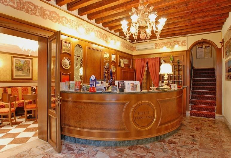 Hotel Fontana, Venise, Hall