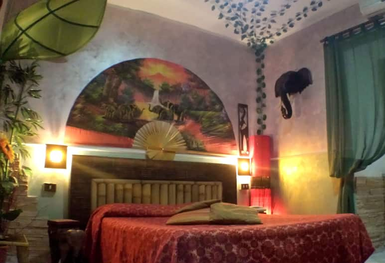 Hotel Ginevra, Naples, Double Room, Private Bathroom, Guest Room