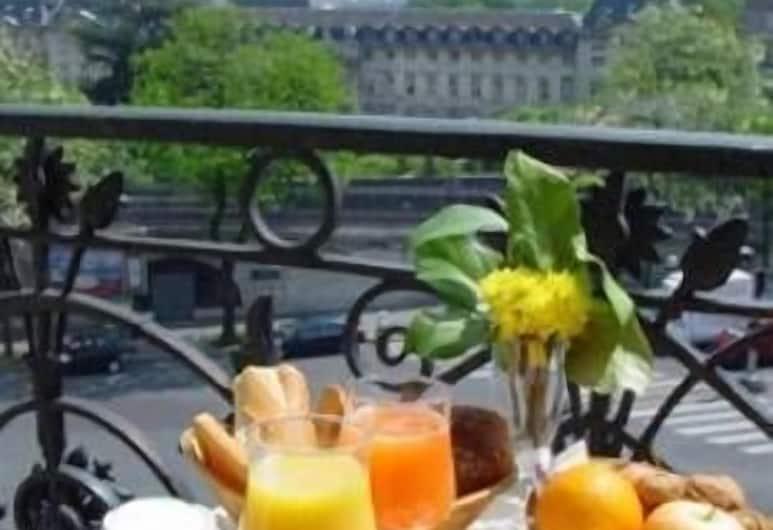 Hôtel Devillas, París, Útsýni úr herbergi