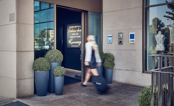Amsterdam bölgesindeki WestCord Fashion Hotel Amsterdam resmi