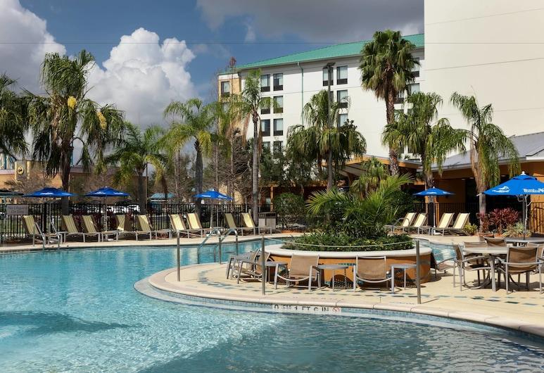 SpringHill Suites by Marriott Orlando at SeaWorld, Orlando, Outdoor Pool