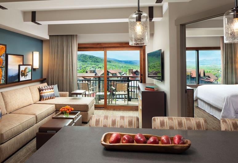 Sheraton Steamboat Resort Villas, Steamboat Springs, Villa - 2 soveværelser - balkon, Værelse