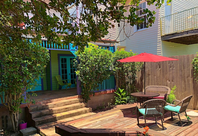 Creole Gardens Guesthouse and Inn, New Orleans, Superior Cottage, 1 Bedroom, Terrace/Patio