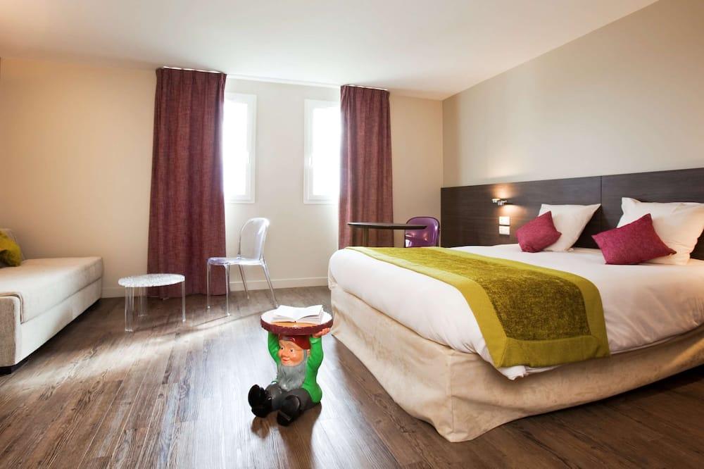 Suite Standard, 1 letto matrimoniale con divano letto - Camera