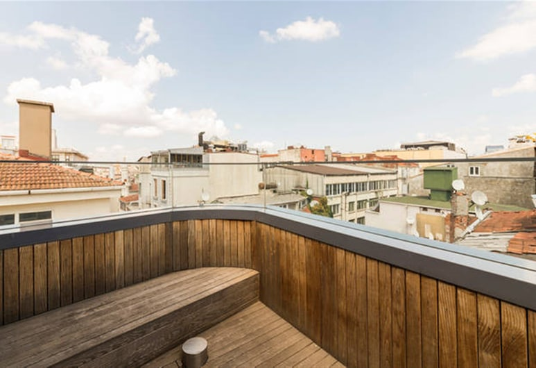 Misafir Suites 8 Istanbul, Istanbul, King Suite, Balkón