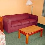 二加大床客房非吸煙 - 客廳
