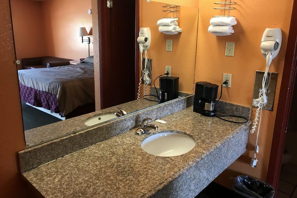 二加大床客房非吸煙 - 浴室