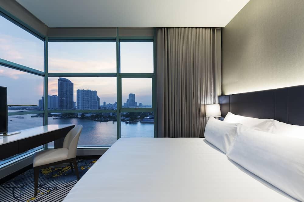 Grand-Suite, 1 Bedroom, River View - Bilik Tamu