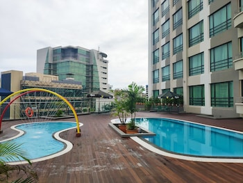 Kota Kinabalu bölgesindeki Sabah Oriental Hotel resmi