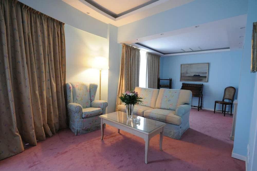 Suite, vistas al mar - Sala de estar