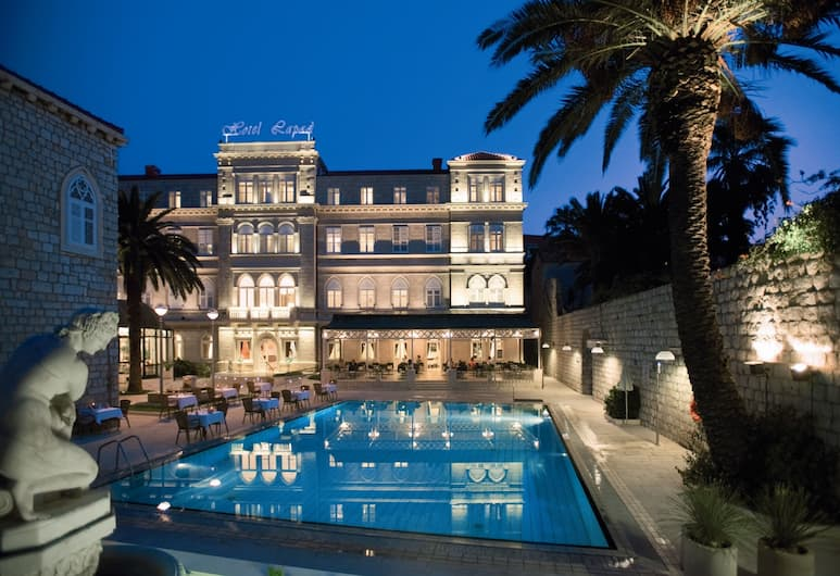 Hotel Lapad, Dubrovnik, Fassaad