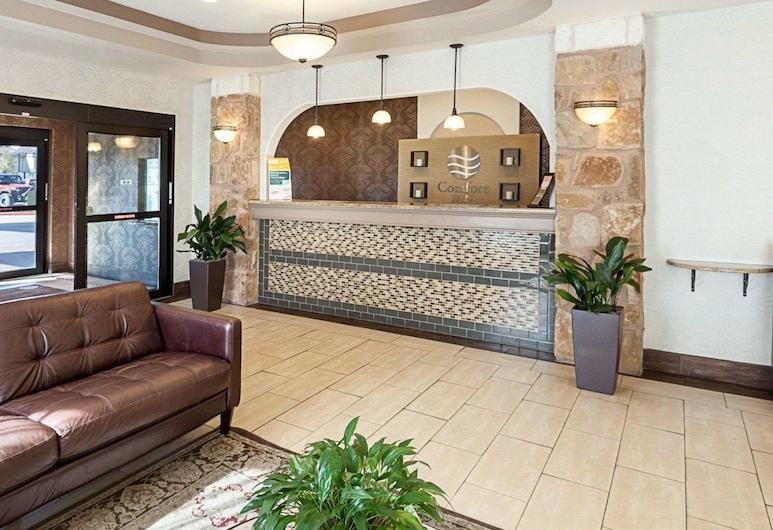 Comfort Inn near Seaworld - Lackland AFB, San Antonijas, Vestibiulis