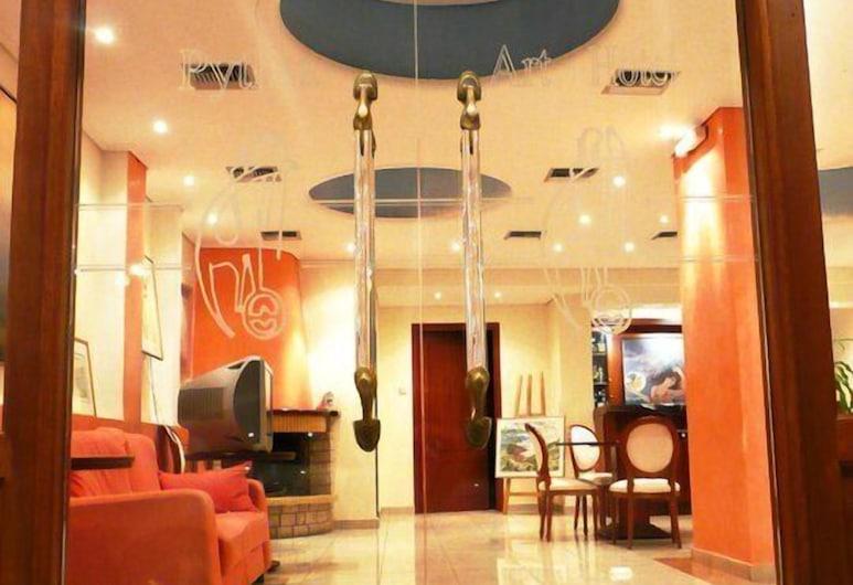 Art Pythia Hotel, Delphi, Įėjimas į viešbutį