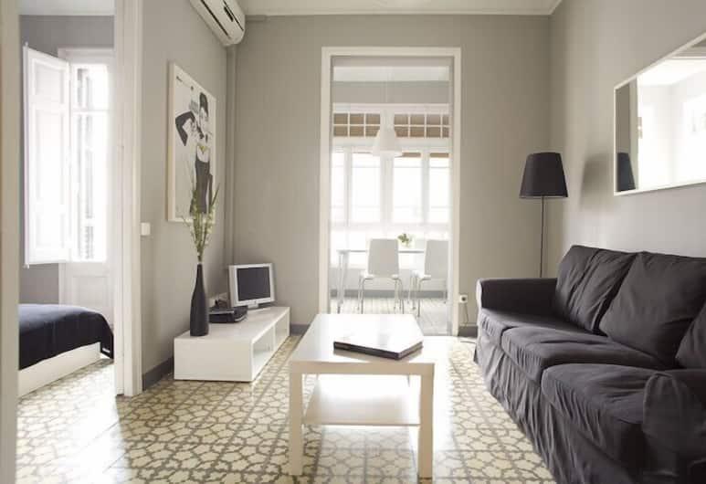 Barcelonaguest Apartments, Barcelona, Leilighet, 4 soverom, Stue