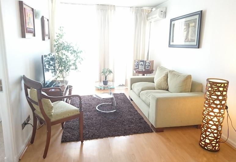 At Home Roger de Flor, Santiago, Apartamento estándar, 1 habitación, Sala de estar