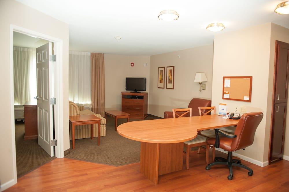 客房, 1 間臥室, 無障礙, 非吸煙房 (Hearing, Mobility) - 客廳
