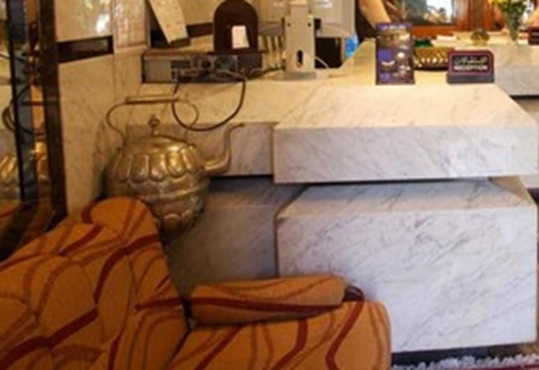 阿瑪萊飯店, 馬拉喀什, 櫃台