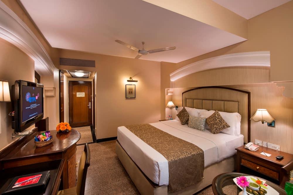 Dvoulůžkový pokoj pro 1 osobu - Obývací prostor