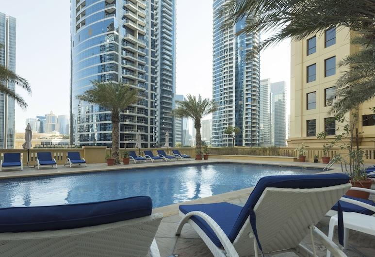 Suha Hotel Apartments , Dubajus, Lauko baseinas