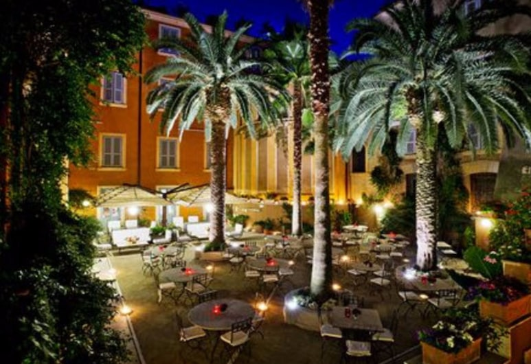 Hotel Ponte Sisto, Рим, Сад