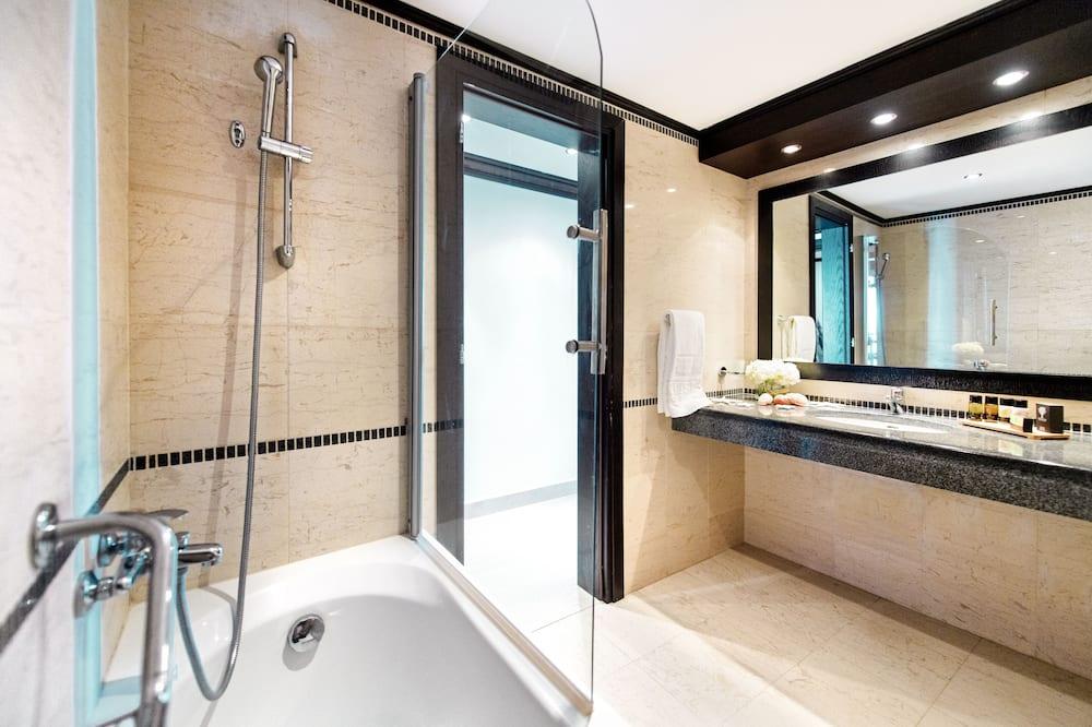 트윈룸, 전용 수영장 - 욕실