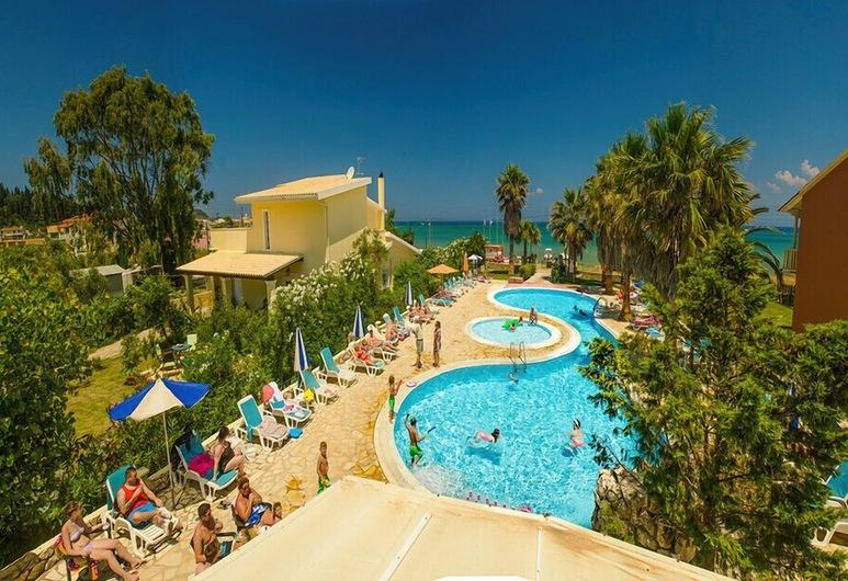 Orestis Apartments, Korfu, Utsikt från hotellet
